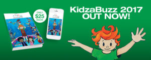 Kidzabuzz voucher book for families 2017 is out now
