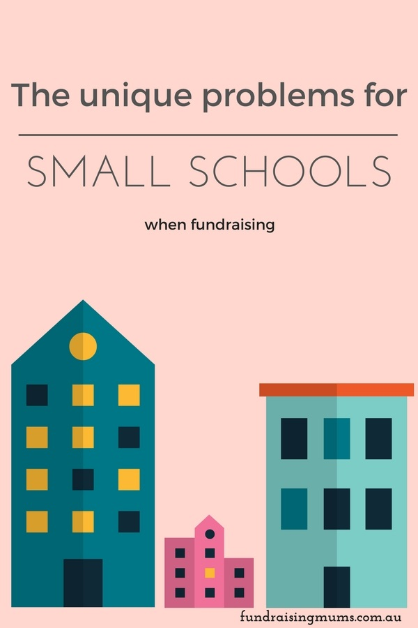 The unique problems faced by small schools when fundraising and solutions to help overcome them.
