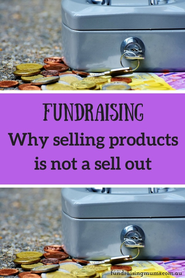 Fundraising - why selling products is not a sell out | Opinion piece by Fundraising Mums