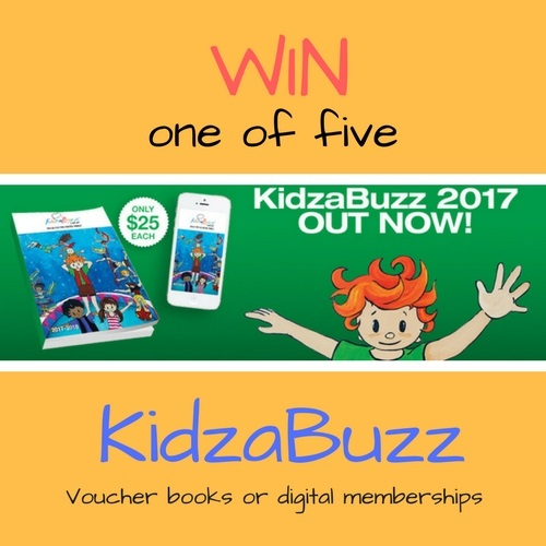 KidzaBuzz giveaway | Fundraising Mums