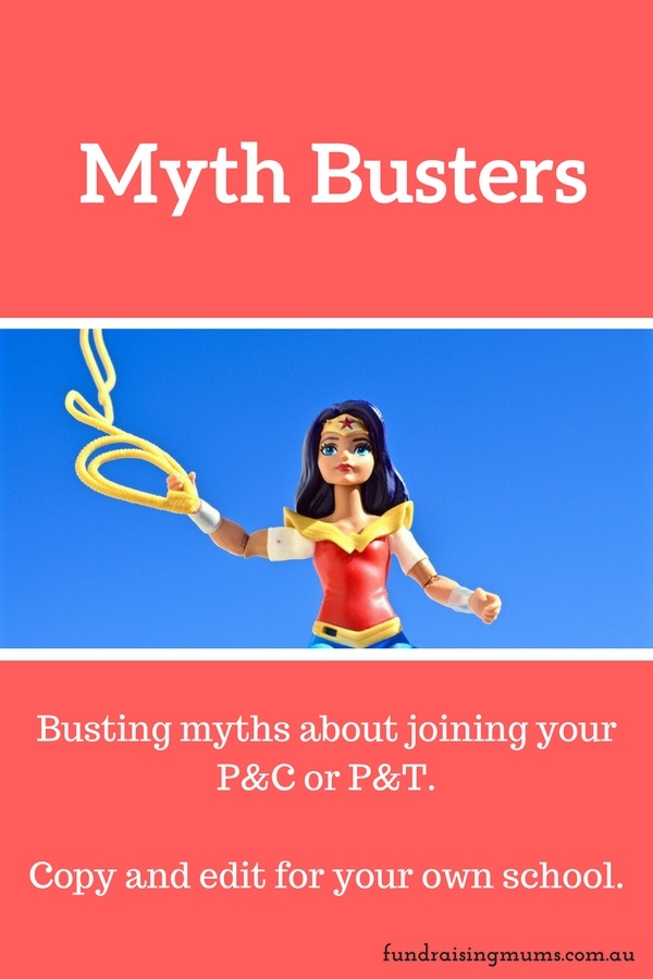 What are the myths about joining the P&C? Bust them down | Fundraising Mums