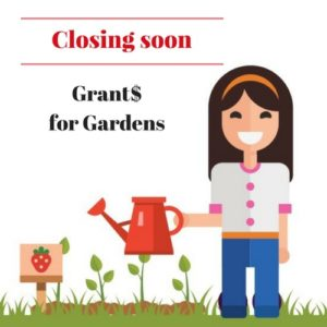 $2,000 grants for gardens | Fundraising Mums