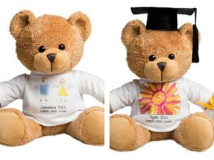 Customised teddy bears are perfect for graduation fundraisers | Fundraising Mums