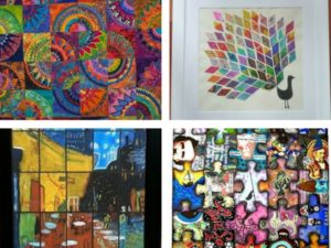 A collaborative art work is a great way to celebrate graduation | Fundraising Mums
