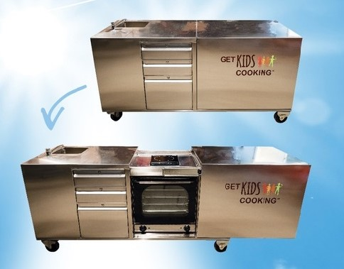 Get Kids Cooking at school with the Kitchen Kart | Fundraising Mums