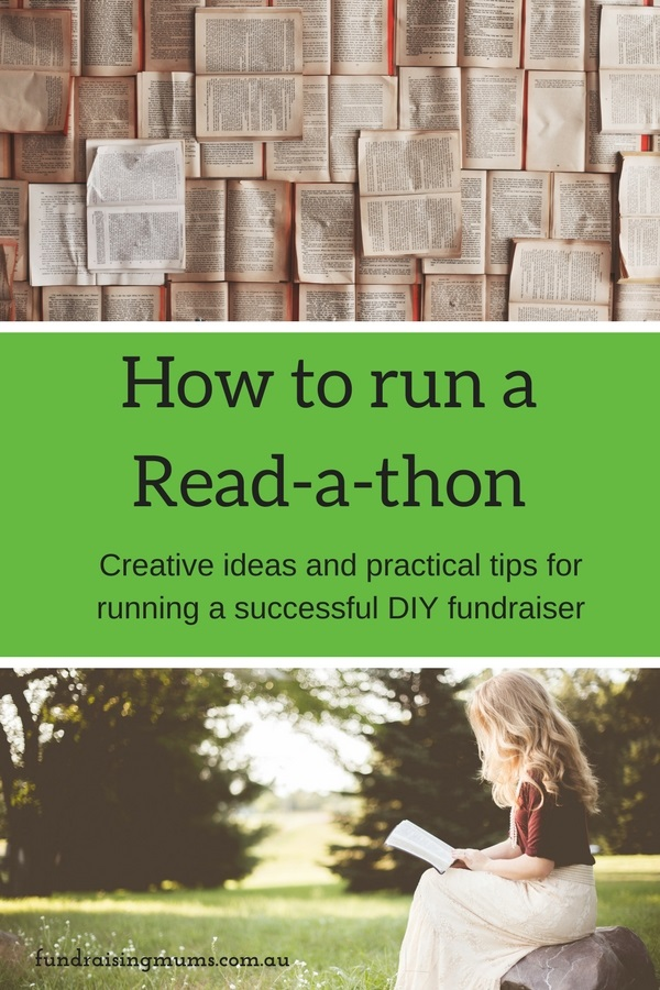 Everything you need to run a read-a-thon at your school, with practical and creative ideas to make it a hugely successful fundraiser.