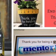 DIY End of Year Teacher Gifts
