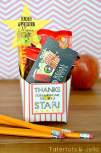 Thanks for Making me a Star teacher gift idea