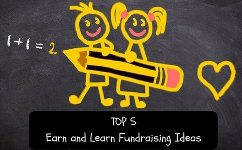Top 5 fundraising ideas where you learn while you earn. For schools and PTO | Fundraising Mums