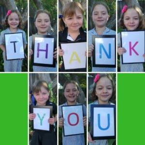 Thank you Sign teacher gift idea by Fundraising Mums