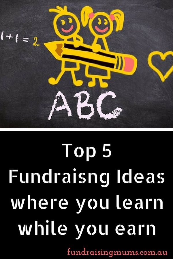 Creative fundraising ideas where kids learn while they earn | Fundraising Mums