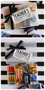 Teacher's Emergency Stash gift idea