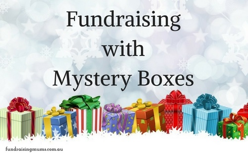 Unusual fundraising ideas - Mystery Boxes | Fundraising Mums