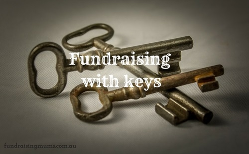 Fundraising with keys - a novel way to make money | Fundraising Mums
