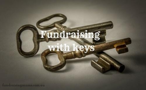 Fundraising with keys - a novel way to make money | Fundraising Mums