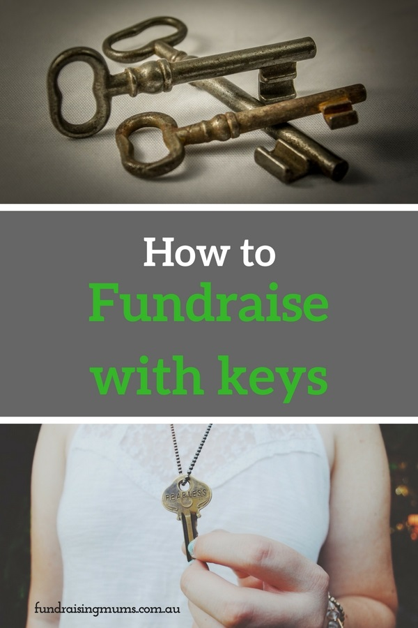 An intriguing yet easy alternative to raffles, fundraising with keys is suitable for all types of groups and events | Fundraising Mums