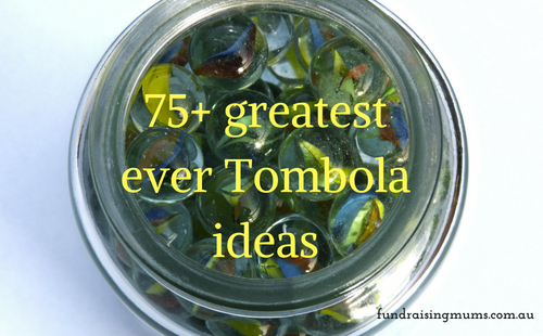 Greatest Ever Ideas For Tombola Jar Raffle Fundraising Mums