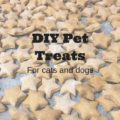 Three ingredient pet treats for cats and dogs