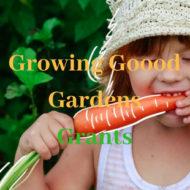 Growing Good Gardens Grants – Open Now