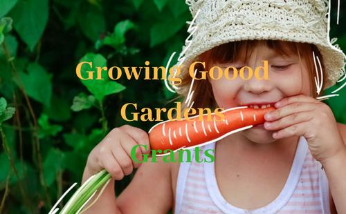 Growing Good Garden Grants open until June 2018 | Fundraising Mums