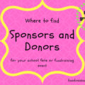 Where to find sponsors and donors for your event