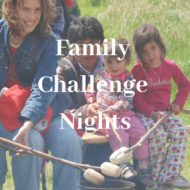 Family Challenge Nights: A DIY Fundraiser