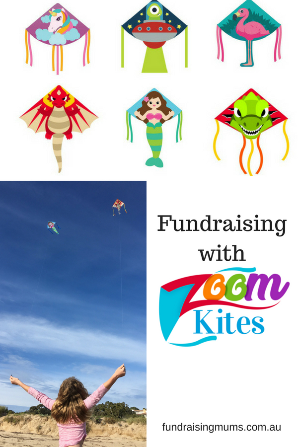 Make money by selling kites in this fun and healthy fundraiser | Fundraising Mums