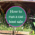 How to run a car boot sale