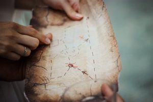 Treasure hunts are a great activity for large groups | Fundraising Mums