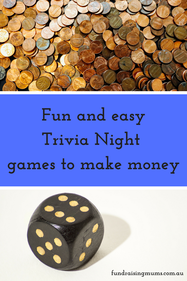 Easy trivia night games to help you raise extra money | Fundraising Mums