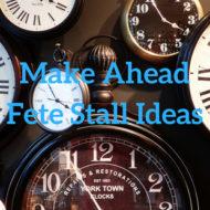 A-Z of Do Ahead Fete Stall Ideas