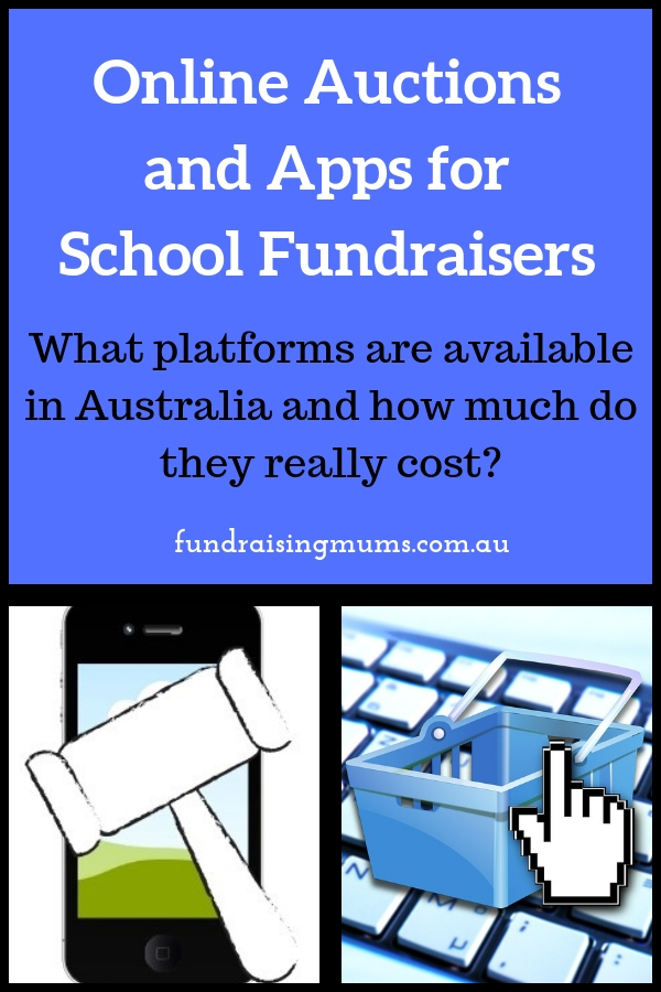 Online silent auction technology available to schools and fundraising groups in Australia   All you need to know   Fundraising Mums
