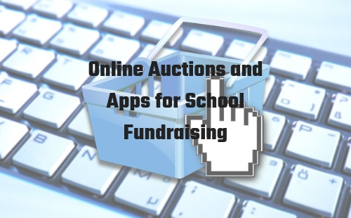 Online auctions and app for school fundraising | What you need to know | Fundraising Mums