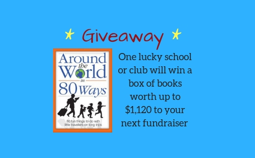Win a box of books valued at over $1,000 to your next fundraiser