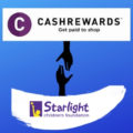Cashrewards partnering with Starlight Foundation | Fundraising Mums