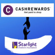 Cashrewards: Community partner of Starlight Children's Foundation