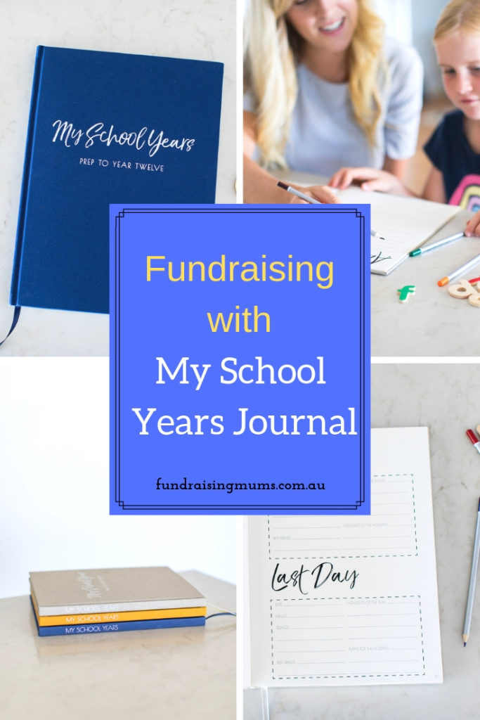 Unique fundraiser for pre-schools and playgroups | My School Years journal | Fundraising Mums