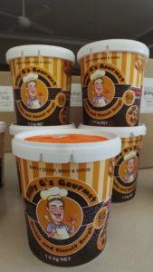 Billy G frozen cookie dough | Fundraising Mums