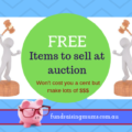 Free items to sell at auction | Fundraising Mums