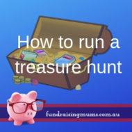 How to Run a Treasure Hunt