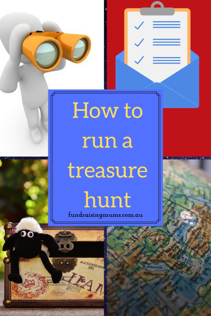 How to run a treasure hunt | Fundraising Mums