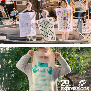 Expressions offers compostable bags and eco friendly products | Fundraising Mums