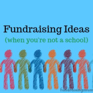 Non School-Based Fundraising Ideas