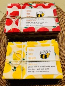 Beeswax wraps are a great alternative to single use plastic wrap | Fundraising Mums
