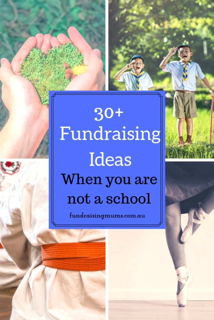 Fundraising Ideas for groups who are not schools | Fundraising Mums