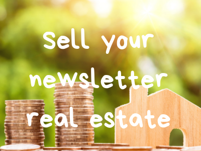 Raise funds by selling space in your newsletter | Fundraising Mums
