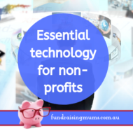Essential Technology for Non-Profits