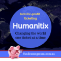 Humanitix- not for profit ticketing | Fundraising Mums