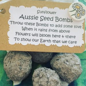 Aussie seed bomb fundraisers | Fundraising Mums