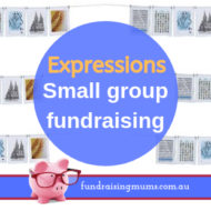 Expressions – Fundraising for small groups
